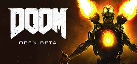 DOOM Open Beta header