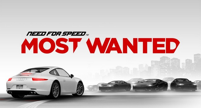 NEED FOR SPEED MOST WANTED header
