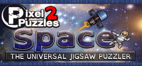 Pixel Puzzles 2 Space header