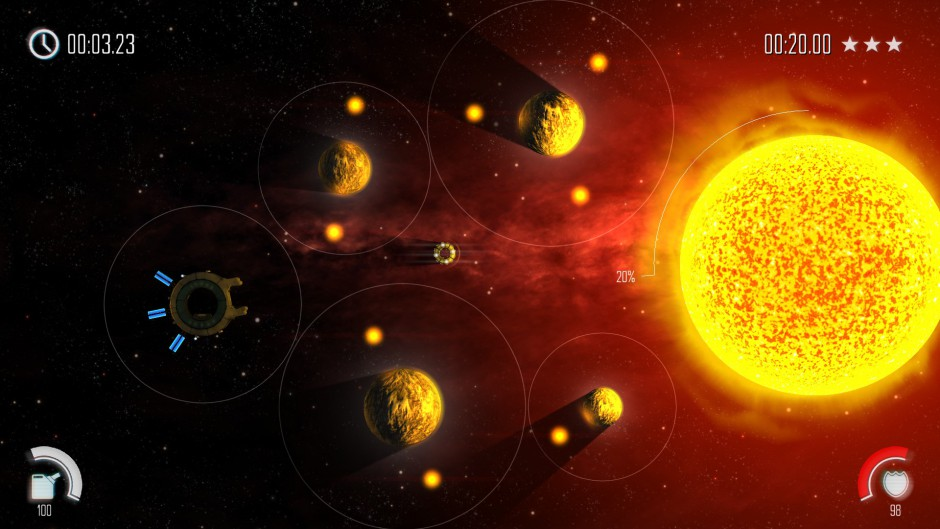 Solar Flux gameplay