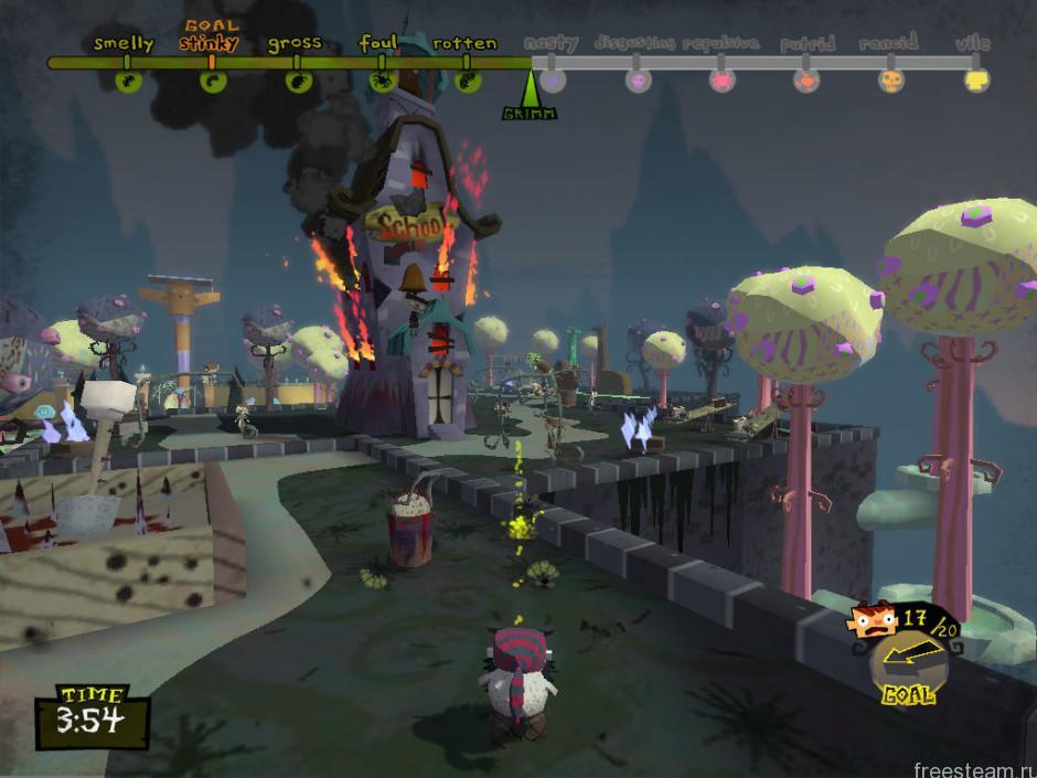Grimm gameplay