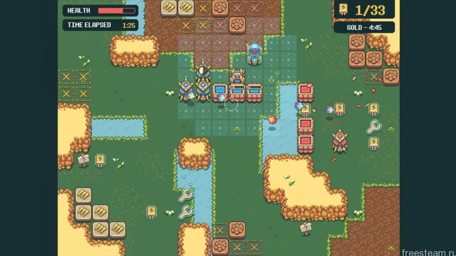 Cubetractor gameplay
