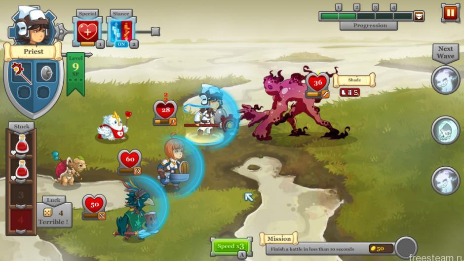 QuestRun gameplay