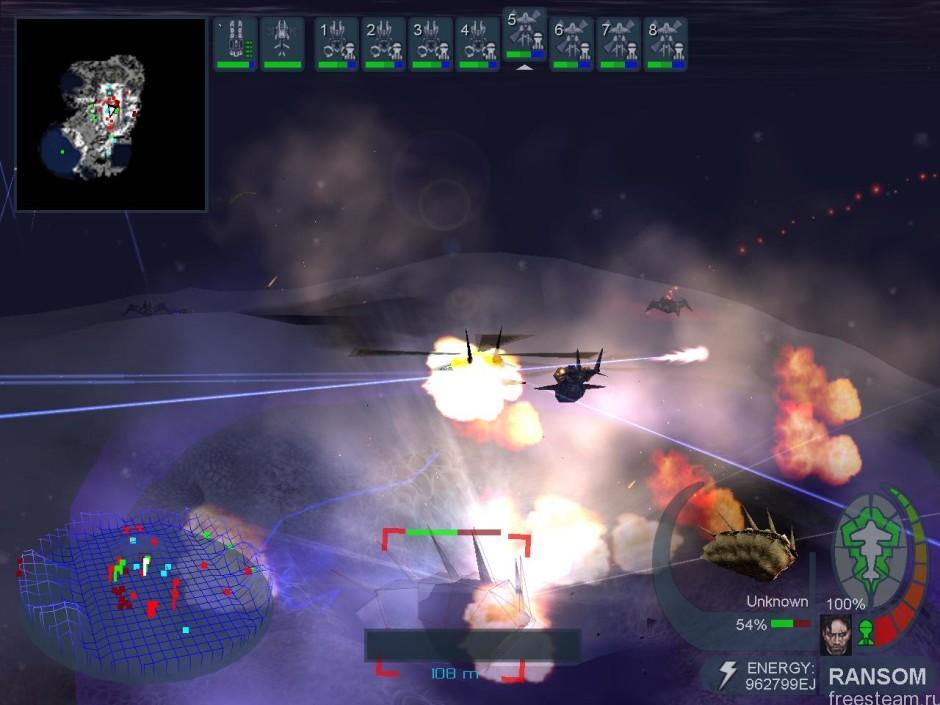 Hostile Waters gameplay 2