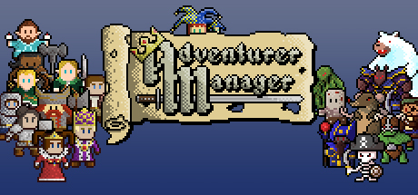 Adventurer Manager header