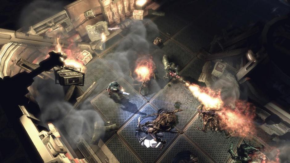 Alien Breed Impact gameplay