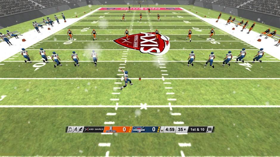 Axis Football 2015 gameplay