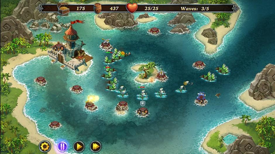Fort Defense gameplay