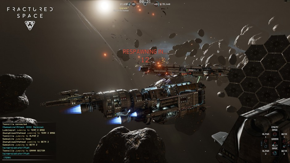 Fractured Space gameplay