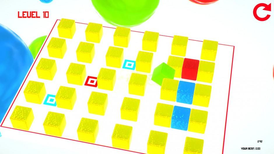 GooCubelets gameplay
