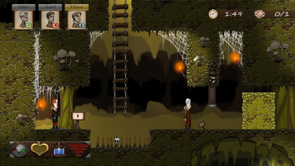 Journey To The Center Of The Earth gameplay