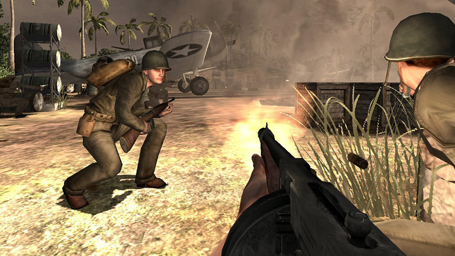Medal of Honor Pacific Assault gameplay