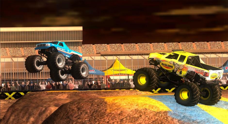 Monster Truck Destruction gameplay