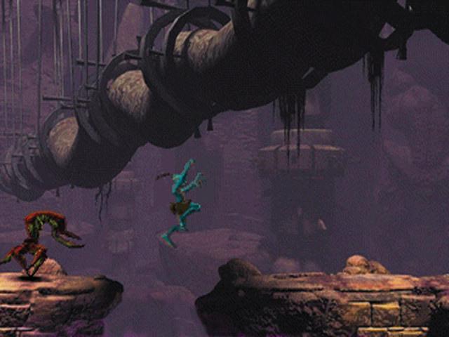 Oddworld Abe's Oddysee gameplay