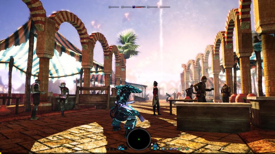 Otherland MMO gameplay