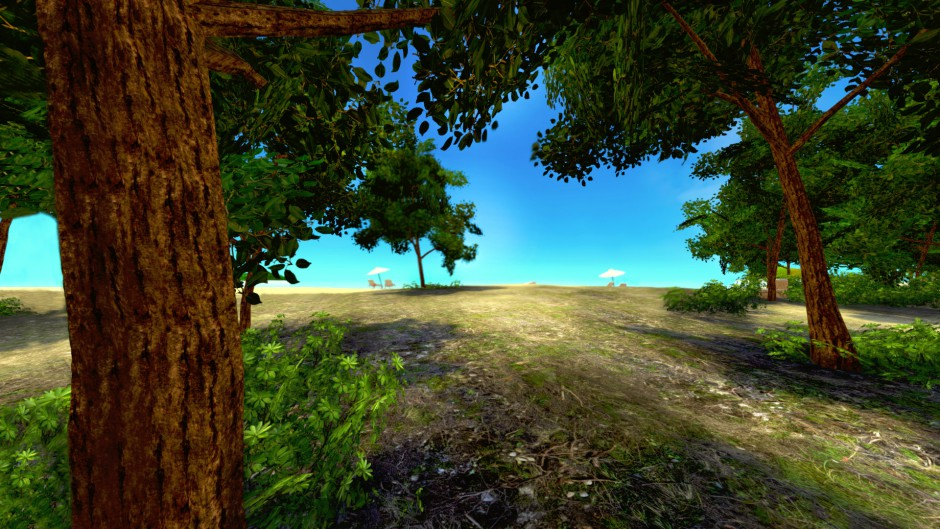 Paradise Island - VR MMO gameplay