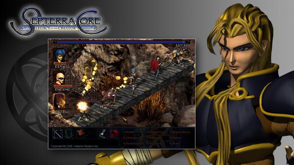 Septerra Core gameplay