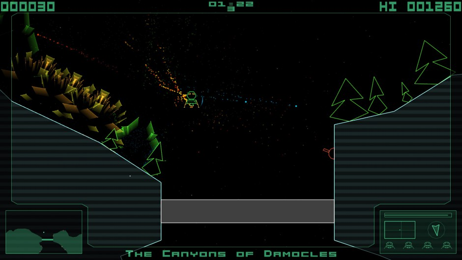 Terra Lander gameplay