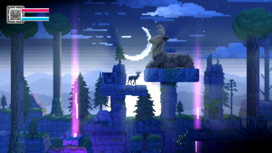 The Deer God gameplay