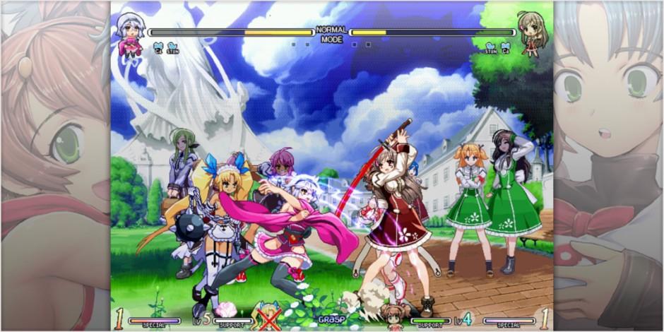 Vanguard Princess gameplay