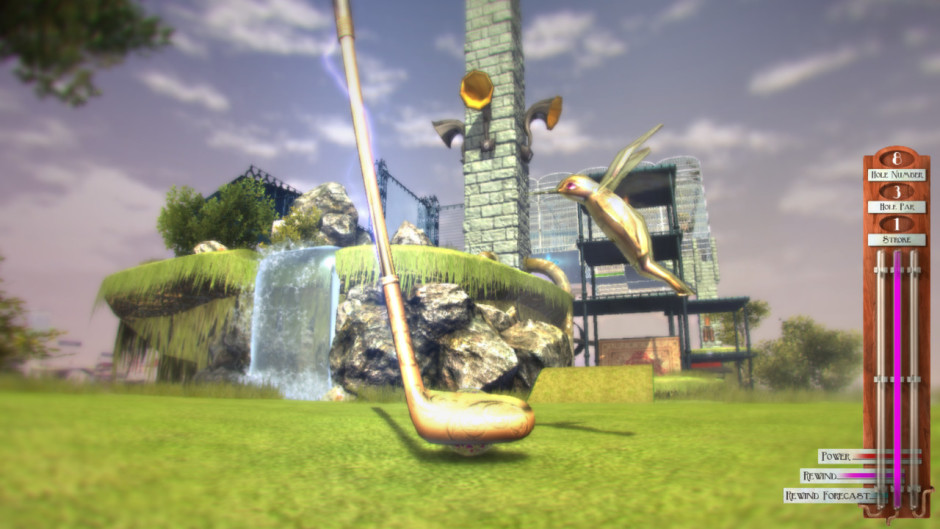 Vertiginous Golf gameplay