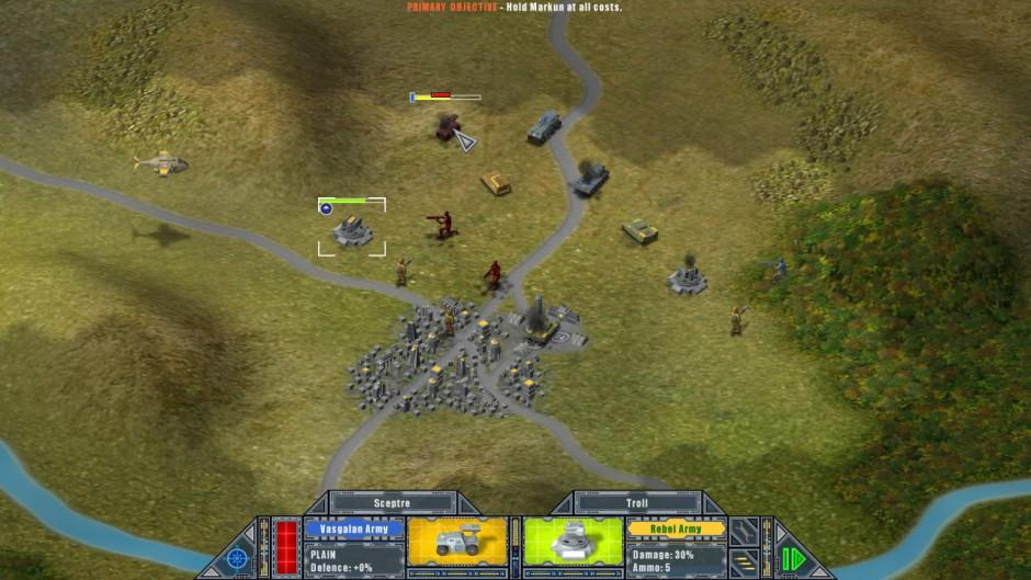 War on Folvos gameplay