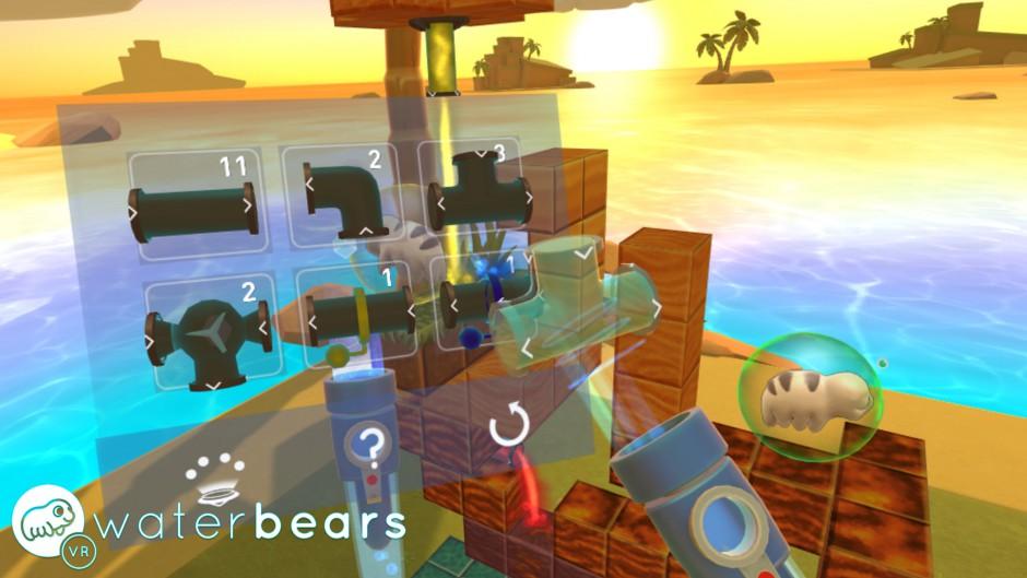 Water Bears VR gameplay