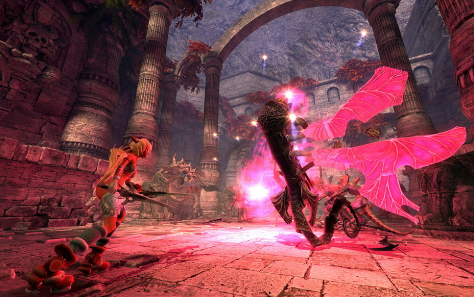 gameplay X-Blades